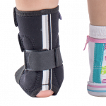 Orteza picior la pret accesibil fabricata la comanda individuala la atomedicalvest.ro